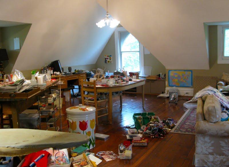 Casa desordenada